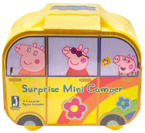 Peppa Pig World of Peppa Surprise Mini Camper Mystery Pack