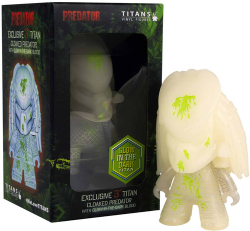 Titans Cloaked Predator 3-Inch Vinyl Mini Figure [Glow in the Dark]