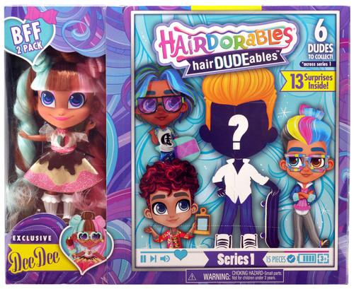 Hairdorables hairDUDEables Series 1 Dee Dee BFF 2-Pack