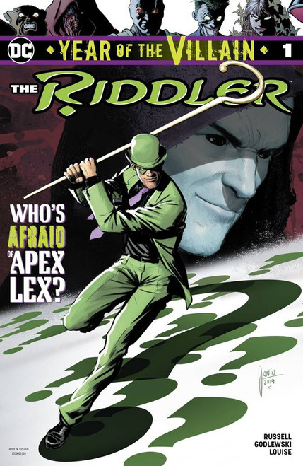 DC Riddler Year Of The Villain #1 Comic Book