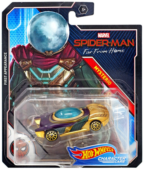 Hot Wheels Marvel Character Cars Mysterio Diecast Car [Far From Home]