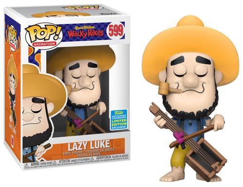 Funko Hanna-Barbera Wacky Races POP! Animation Lazy Luke Exclusive Vinyl Figure #599