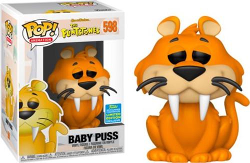 Funko Hanna-Barbera The Flintstones POP! Animation Baby Puss Exclusive Vinyl Figure #598