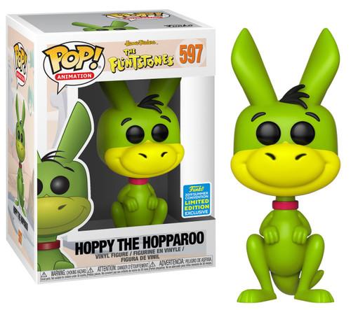 Funko Hanna-Barbera The Flintstones POP! Animation Hoppy the Hopparoo Exclusive Vinyl Figure #597