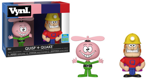 Funko Quaker Oats Vynl. Quisp & Quake Exclusive Vinyl Figure 2-Pack