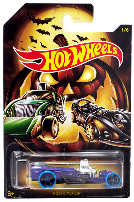 Hot Wheels Happy Halloween! Rigor Motor Diecast Car #1/6