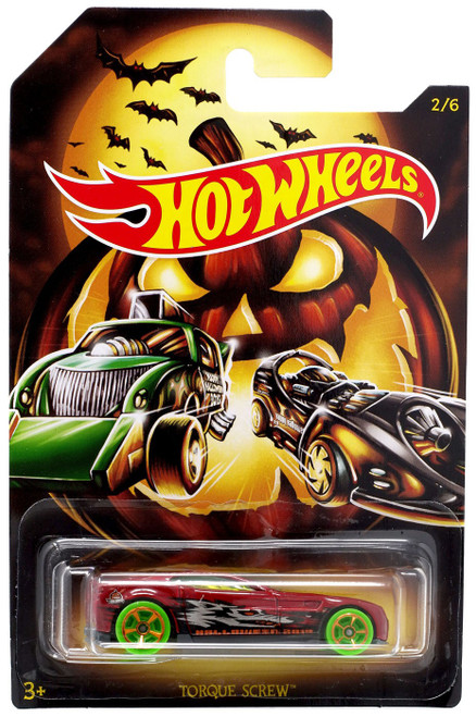 Hot Wheels Happy Halloween! Torque Screw Diecast Car #2/6