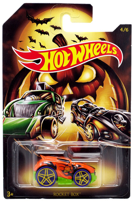 Hot Wheels Happy Halloween! Rocket Box Diecast Car #4/6