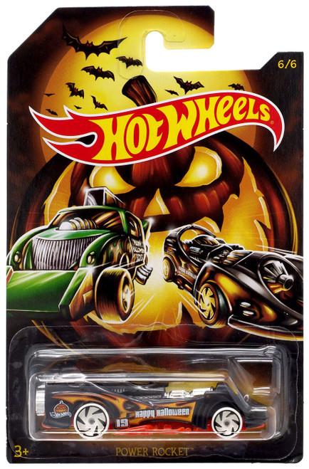 Hot Wheels Happy Halloween! Power Rocket Diecast Car #6/6