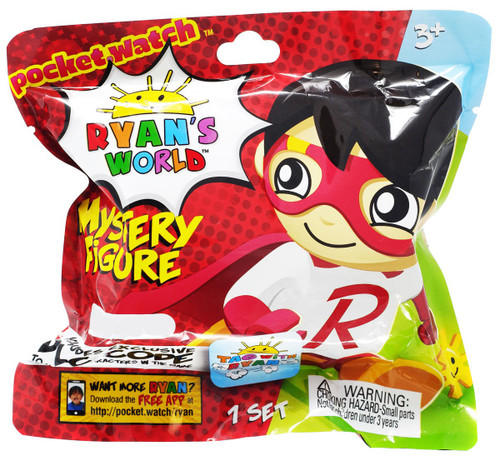 Ryan's World Mini Figure with Accessory Tag with Ryan Exclusive Mystery Pack [Includes Exclusive DLC Code!]