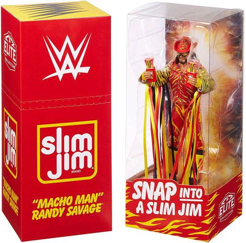 """WWE Wrestling Slim Jim Elite """"Macho Man"""" Randy Savage Exclusive Action Figure"""