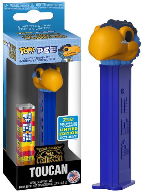 Funko SDCC San Diego Comic Con 50 POP! PEZ Toucan Exclusive Candy Dispenser