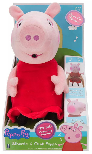 Peppa Pig Whistle N' Oink Peppa Plush with Sound