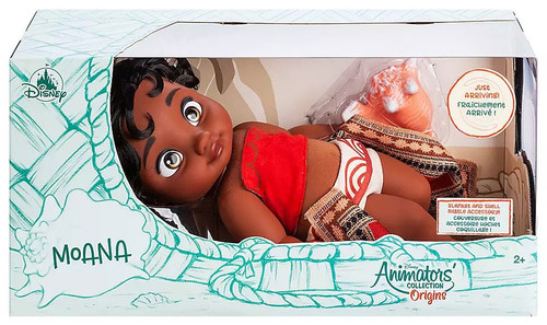 Disney Animators' Collection Origins Moana Exclusive 12-Inch Doll