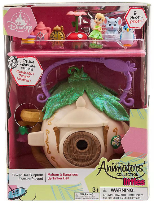 Disney Littles Animators' Collection Tinker Bell Surprise Exclusive Micro Playset