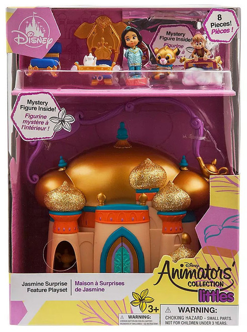 Disney Aladdin Littles Animators' Collection Jasmine Surprise Exclusive Micro Playset