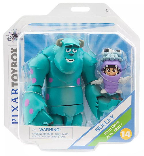 Disney / Pixar Monsters Inc Toybox Sulley with Boo! Exclusive Action Figure 2-Pack