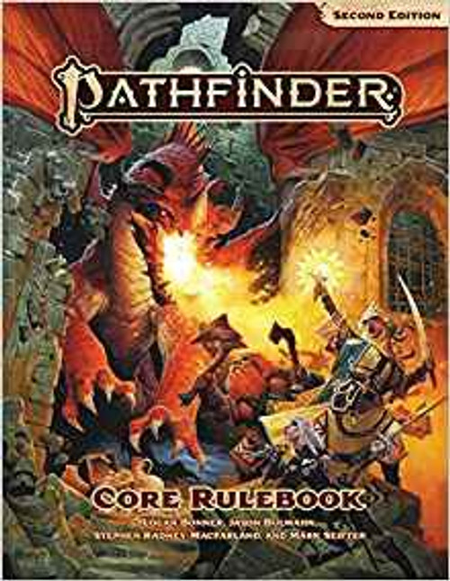 Pathfinder 2nd Edition Core Rulebook Core Rulebook [Regular Edition]