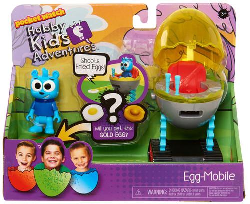 Pocket Watch HobbyKids Adventures Egg-Mobile Figure Set