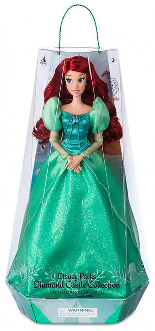 Disney Princess The Little Mermaid Diamond Castle Collection Ariel Exclusive 16-Inch Doll
