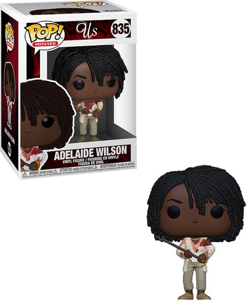 Funko Us POP! Movies Adelaide Vinyl Figure #835 [with Chains and Fire Poker]