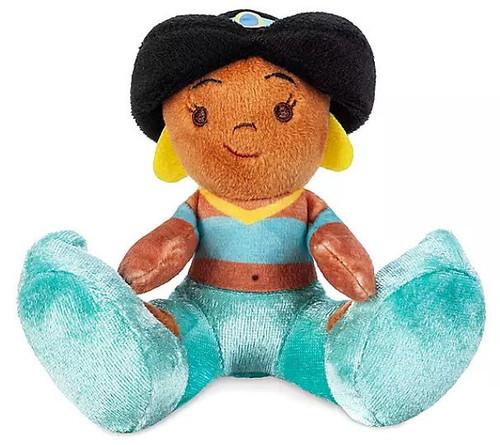 Disney Aladdin Tiny Big Feet Jasmine Exclusive 4-Inch Micro Plush