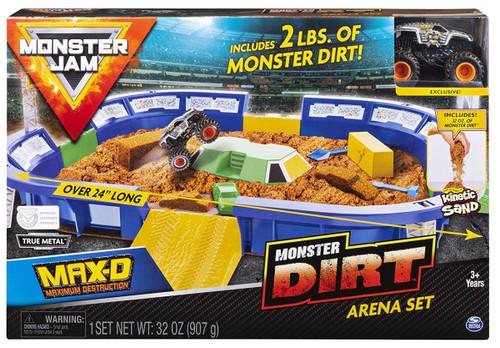 Monster Jam Monster Dirt Max-D Arena Playset