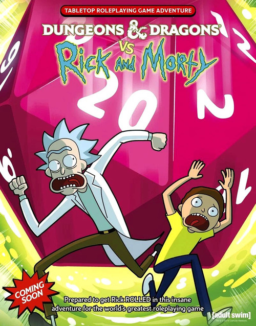 Dungeons & Dragons vs Rick & Morty Roleplaying Game Starter Set [5th Edition]