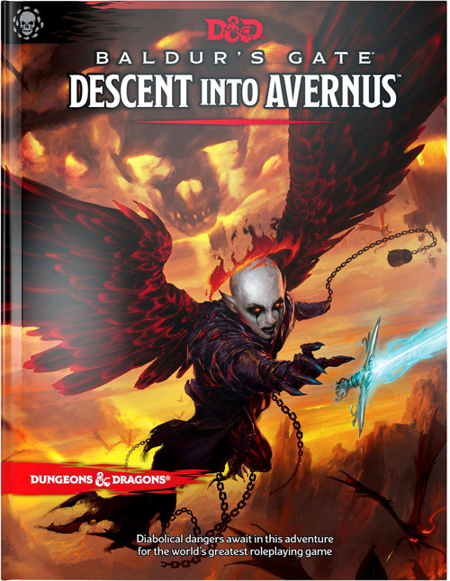 Dungeons & Dragons 5th Edition Baldur's Gate: Descent into Avernus Hardcover Roleplaying Book [Regular Cover]