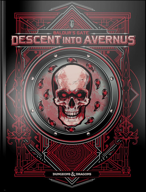 Dungeons & Dragons 5th Edition Baldur's Gate: Descent into Avernus Hardcover Roleplaying Book [Alternate Cover]