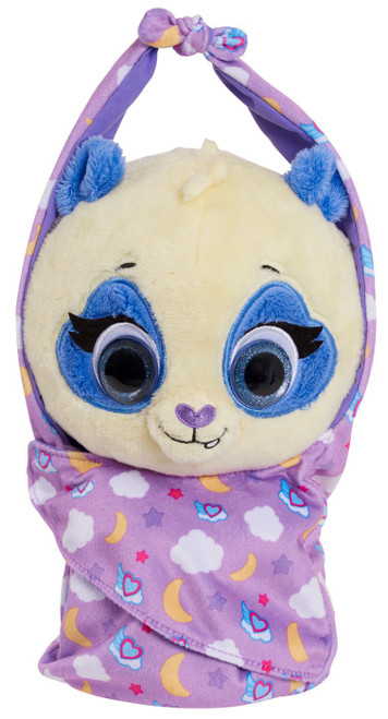Disney Junior TOTS (Tiny Ones Transport Service) Cuddle & Wrap Precious The Panda 9-Inch Plush