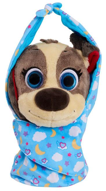 Disney Junior TOTS (Tiny Ones Transport Service) Cuddle & Wrap Pablo The Puppy 9-Inch Plush