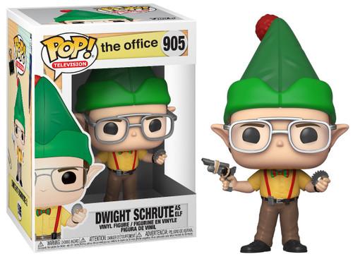 Funko The Office POP! TV Dwight as Elf Vinyl Figure #905