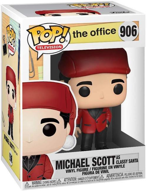 Funko The Office POP! TV Michael Scott as Classy Santa Vinyl Figure #906
