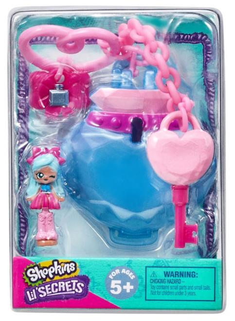 Shopkins Shoppies Lil' Secrets Secret Bag Tag Precious Perfumery with Jascenta Micro Playset