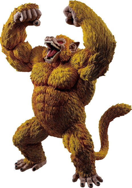 Dragon Ball GT Ichiban Golden Ape Oozaru Goku 11.8-Inch Collectible PVC Figure
