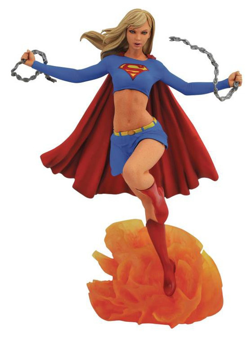 DC Gallery Supergirl 10-Inch Collectible PVC Statue [Damaged Package]