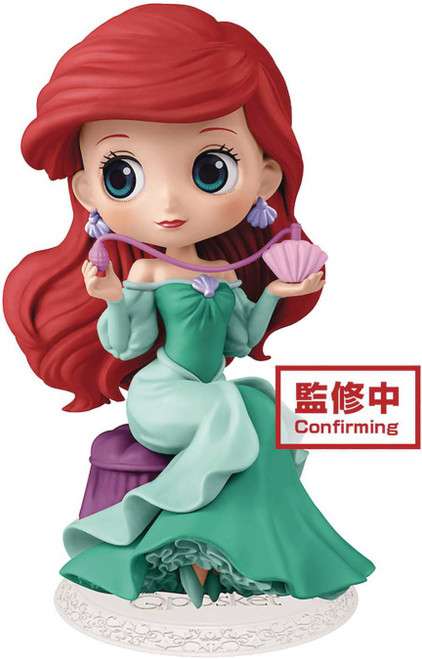 Disney The Little Mermaid Q Posket Perfumagic Ariel Collectible PVC Figure [Version 1]