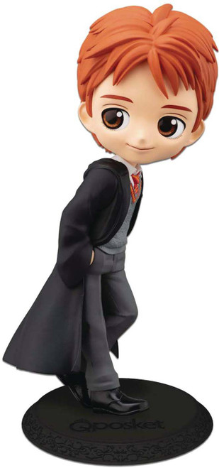 Harry Potter Q Posket George Weasly 5.5-Inch Collectible PVC Figure [Normal Color Version]