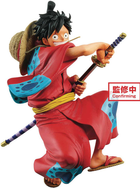 One Piece Stampede King of the Artist Monkey D. Luffy 5.5-Inch Collectible PVC Figure [Wano Country]