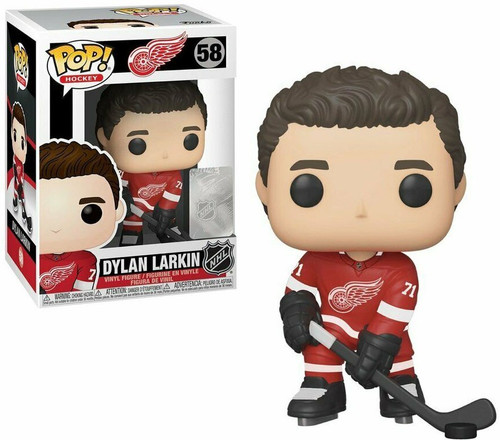 Funko NHL Detroit Red Wings POP! Sports Hockey Dylan Larkin Vinyl Figure #58 [Red Jersey]