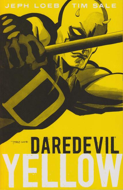 Marvel Daredevil Yellow Trade Paperback Comic Book [Second Printing, Sun Damage on Spine]