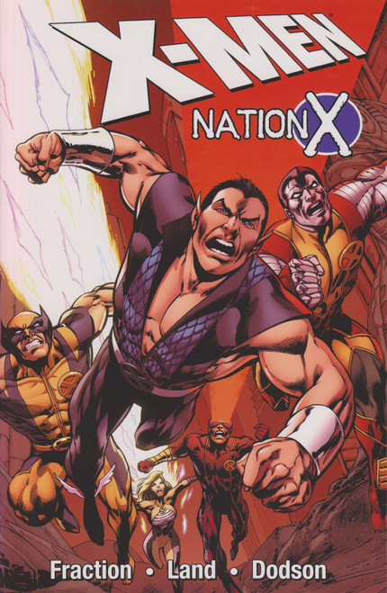 Marvel X-Men Nation X Trade Paperback Comic Book [Sun Damage on Spine]