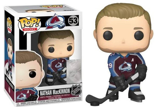 Funko NHL Colorado Avalanche POP! Sports Hockey Nathan MacKinnon Vinyl Figure [Home Jersey]