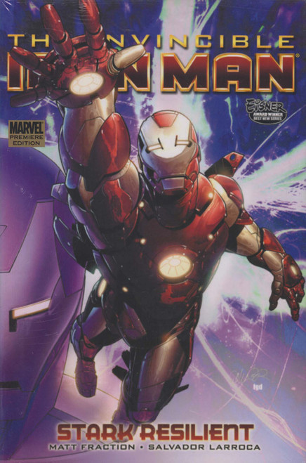 Marvel The Invincible Iron Man Stark: Resilient Hard Cover Comic Book #5 [Sun Damage on Spine]