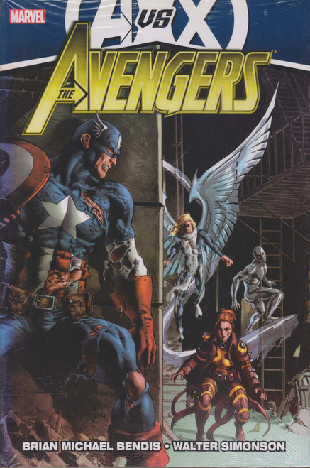 Marvel Avengers Vs X-Men Avengers Vs. X-Men Hard Cover Comic Book #4 [Sun Damage on Spine]