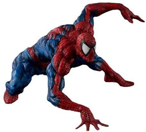 Marvel Sofbinal Spider-Man 7.9-Inch Collectible Soft Vinyl Statue