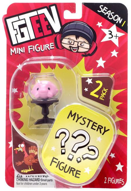 FGTeeV Season 1 Blobbyfish & Mystery Action Figure 2-Pack [Mini Figure]