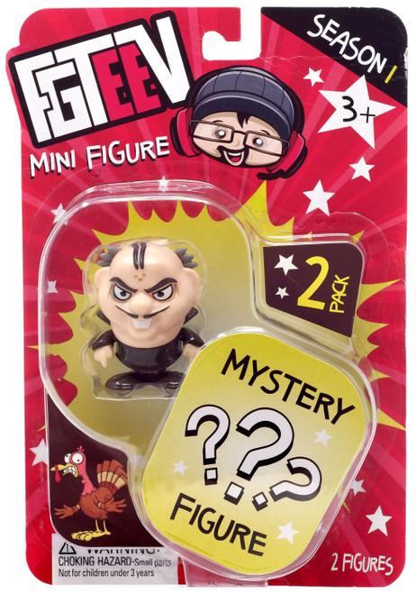 FGTeeV Season 1 Evil Zeebub & Mystery Action Figure 2-Pack [Mini Figure]