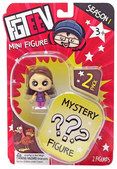 FGTeeV Season 1 Mom & Mystery Action Figure 2-Pack [Mini Figure]